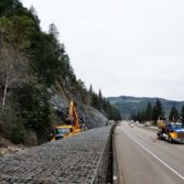 I-5 MP 109 SB Rockfall Removal: Photo 2