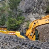 I-5 MP 109 SB Rockfall Removal: Photo 1