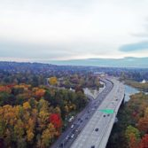 Aerial photo: SR-520 Montlake to Lake Washington project 5