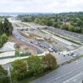 Aerial photo: SR-520 Montlake to Lake Washington project 7