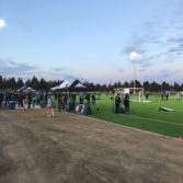 Bend FC Timbers field ribbon cutting 3