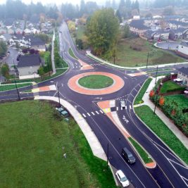 35th Avenue Roundabout: Project Photo 2