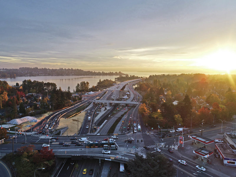 SR-520 Montlake to Lake Washington