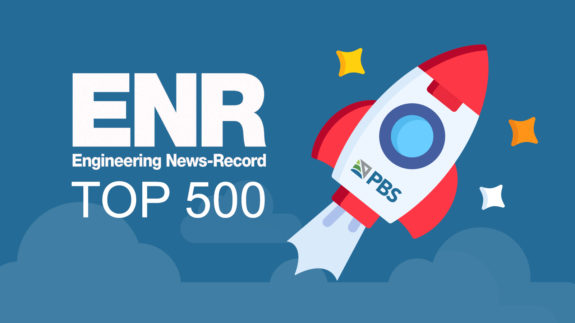 Text image: PBS Climbs the Ranks of National Firms