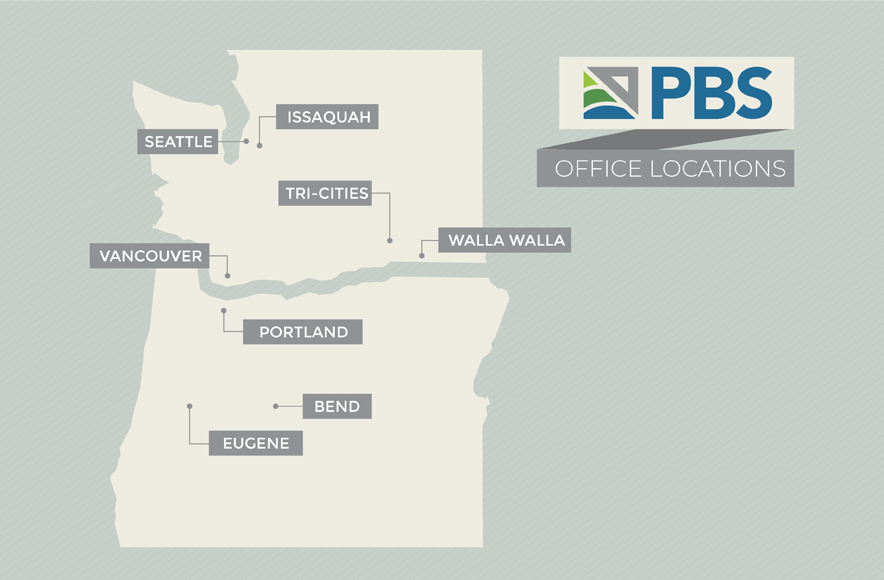 PBS Locations Map