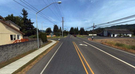Road photo - SR 503 Widening and Survey