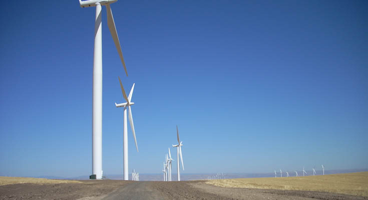 PacifiCorp Klondike Wind Energy: Project photo 1