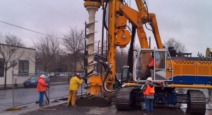 PCC Cascade Campus Buildings - Project Drilling Photo 2