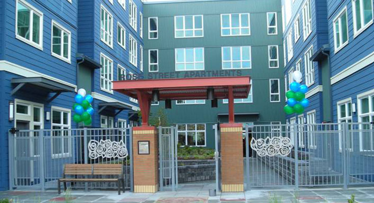 The Rose Street Apartments Is A Newly Completed Low Income Housing And Retail Facility Located In Rainier Valley Neighborhood Of South Seattle Wa