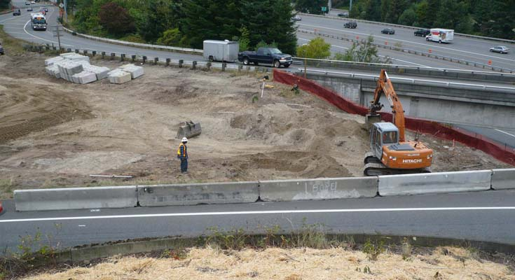 Aerial photo: I-405: I-5 to SR-167 Stage I Widening D/B